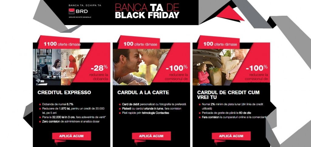 Banca ta de Black Friday
