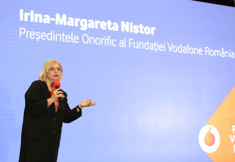 Connecting for Good 2017_Irina Margareta Nistor, presedinte onorific Fundatia Vodafone Romania 02
